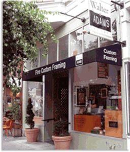 San Francisco Fillmore Store - Walter Adams Framing