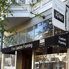 Walter Adams Framing San Francisco Fillmore Location Store Front