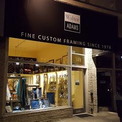 Walter Adams Framing San Francisco West Portal Location Store Front