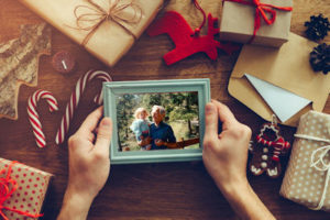 Photo frames are perfect Christmas and holiday gifts.