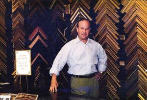 Nicholas Van-Beek owner of Walter Adams Framing in San Francisco